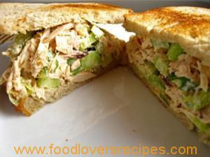 ANOTHER CHICKEN SALAD SANDWICH