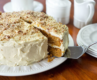 Easy Carrot Cake – and I do mean easy