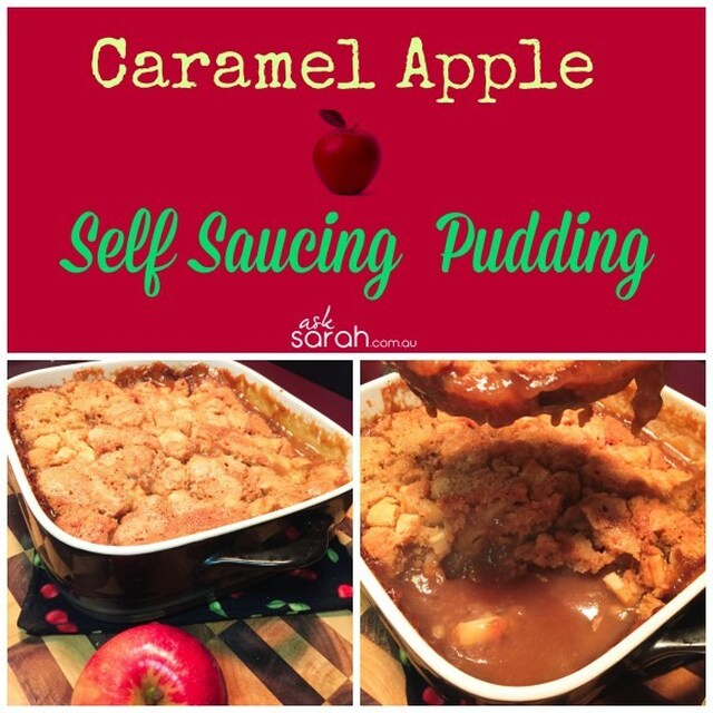 Recipe: Caramel Apple Self Saucing Pudding {So easy and made from scratch!}