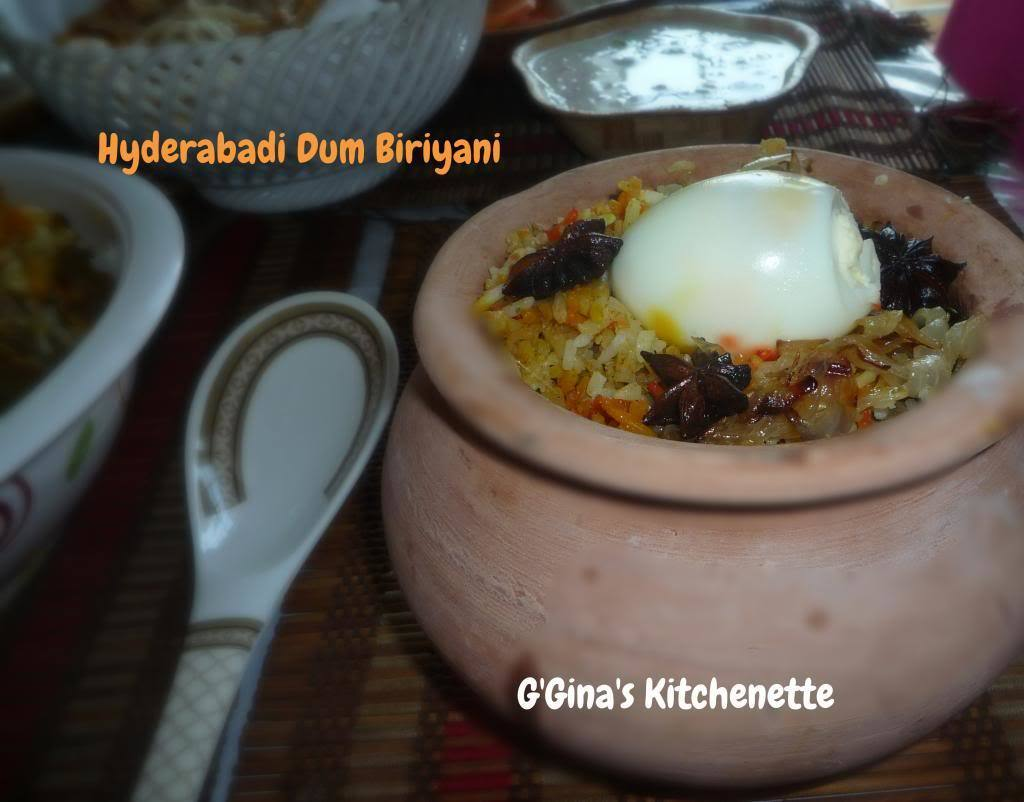 Sunday Lamb Biriyani - Hyderabadi Dum Biriyani