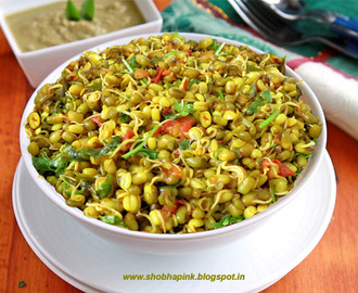 Chatpate Moong Sprouts