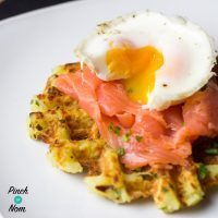 Syn Free Onion and Chive Potato Waffles | Slimming World
