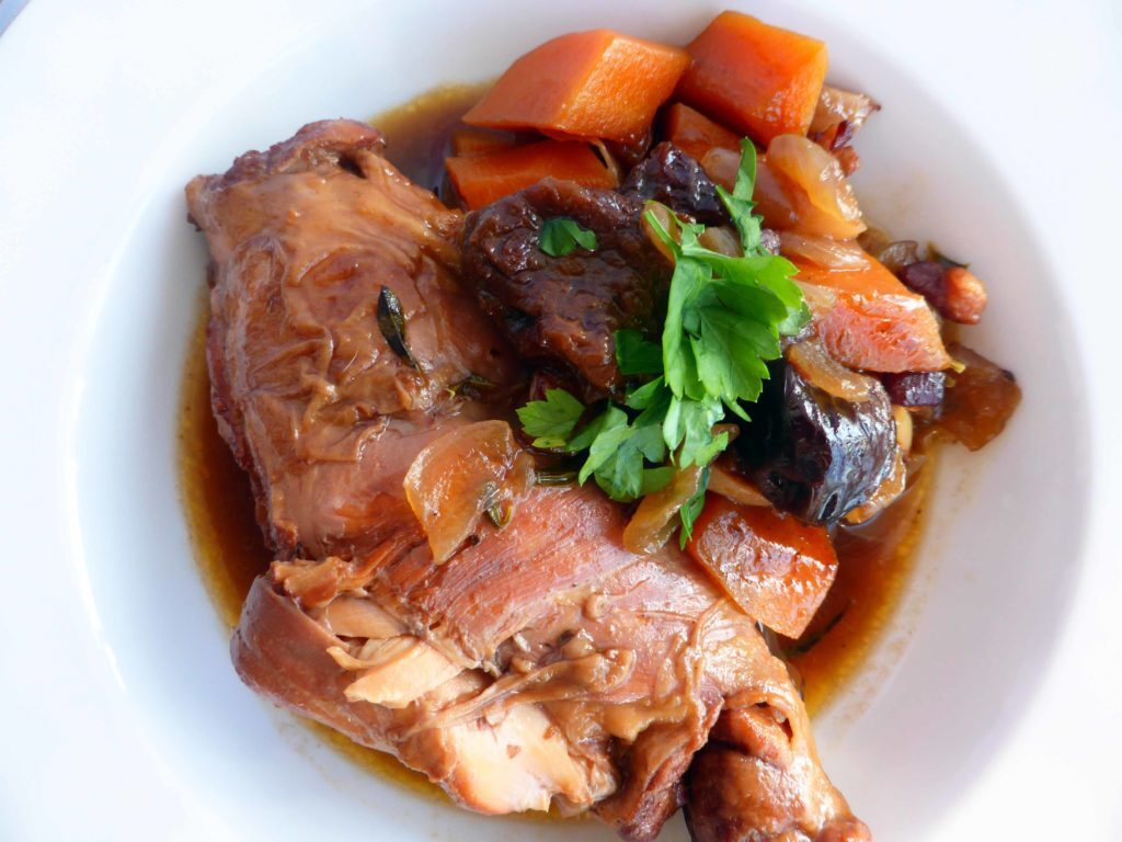 Rabbit Stew with Prunes
