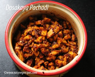 Yellow Cucumber Pachadi Recipe -- How to make Yellow Cucumber Pachadi