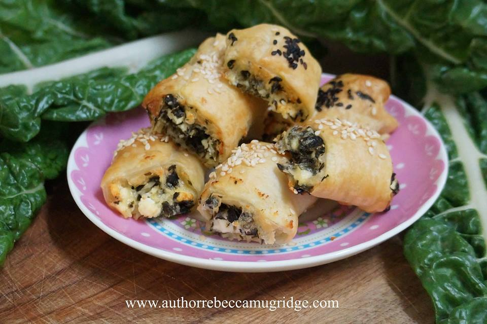 Silverbeet and Kale Feta Rolls - Healthy, Happy Lunch boxes