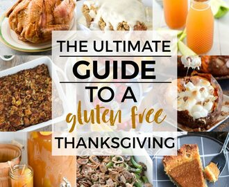 An Easy Guide to a Gluten Free Thanksgiving Menu