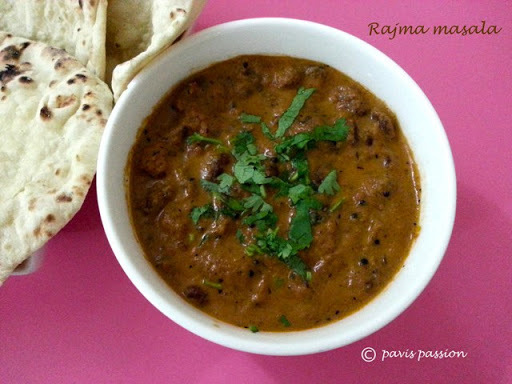 Rajma Masala | Kidney bean Curry