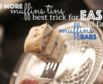 The Best Muffin Hack for Amazing Homemade Muffin Bars