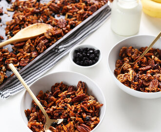 Simple Grain-Free Granola