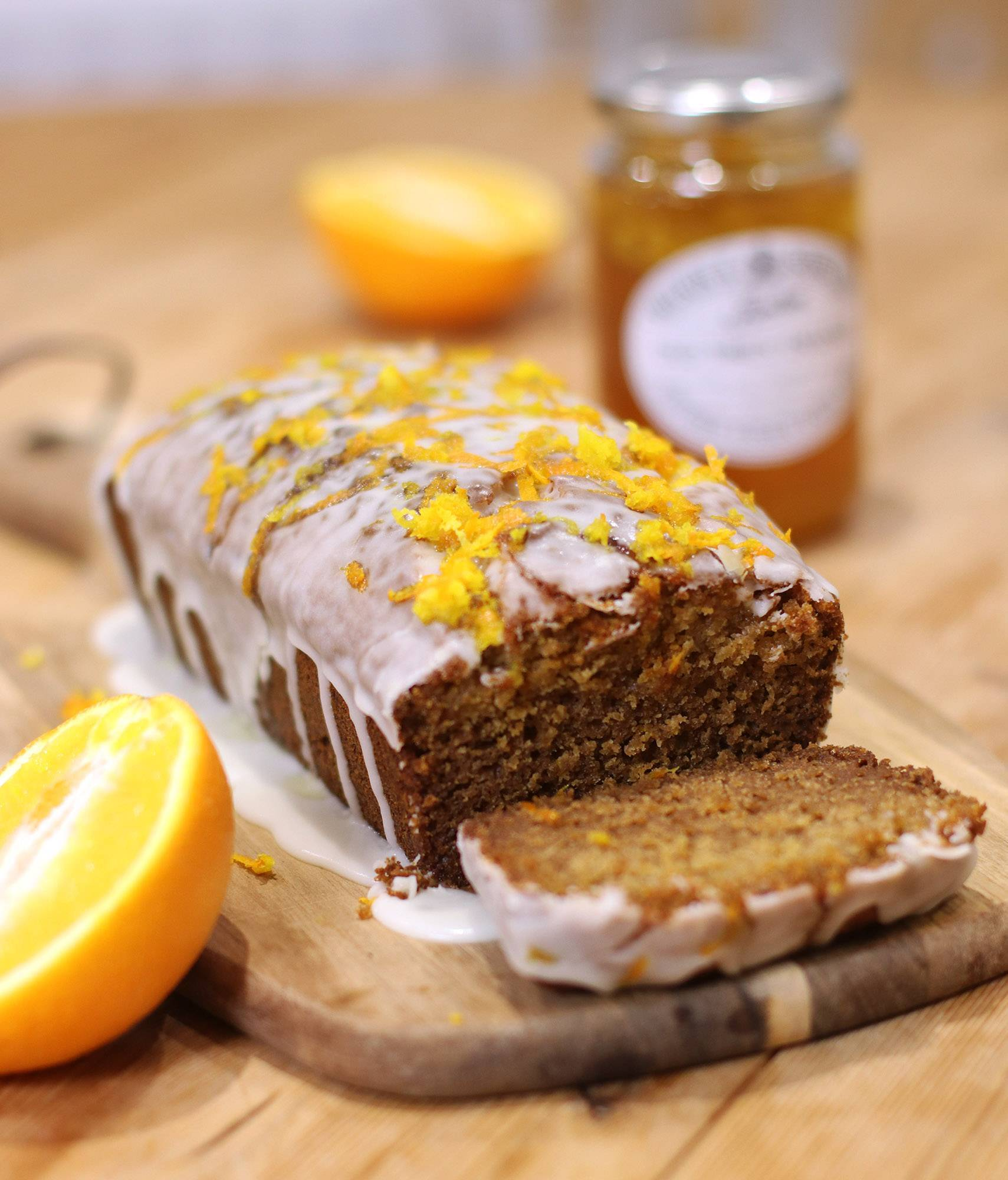My Mighty Gluten Free Marmalade Loaf Cake Recipe (dairy free and low FODMAP)