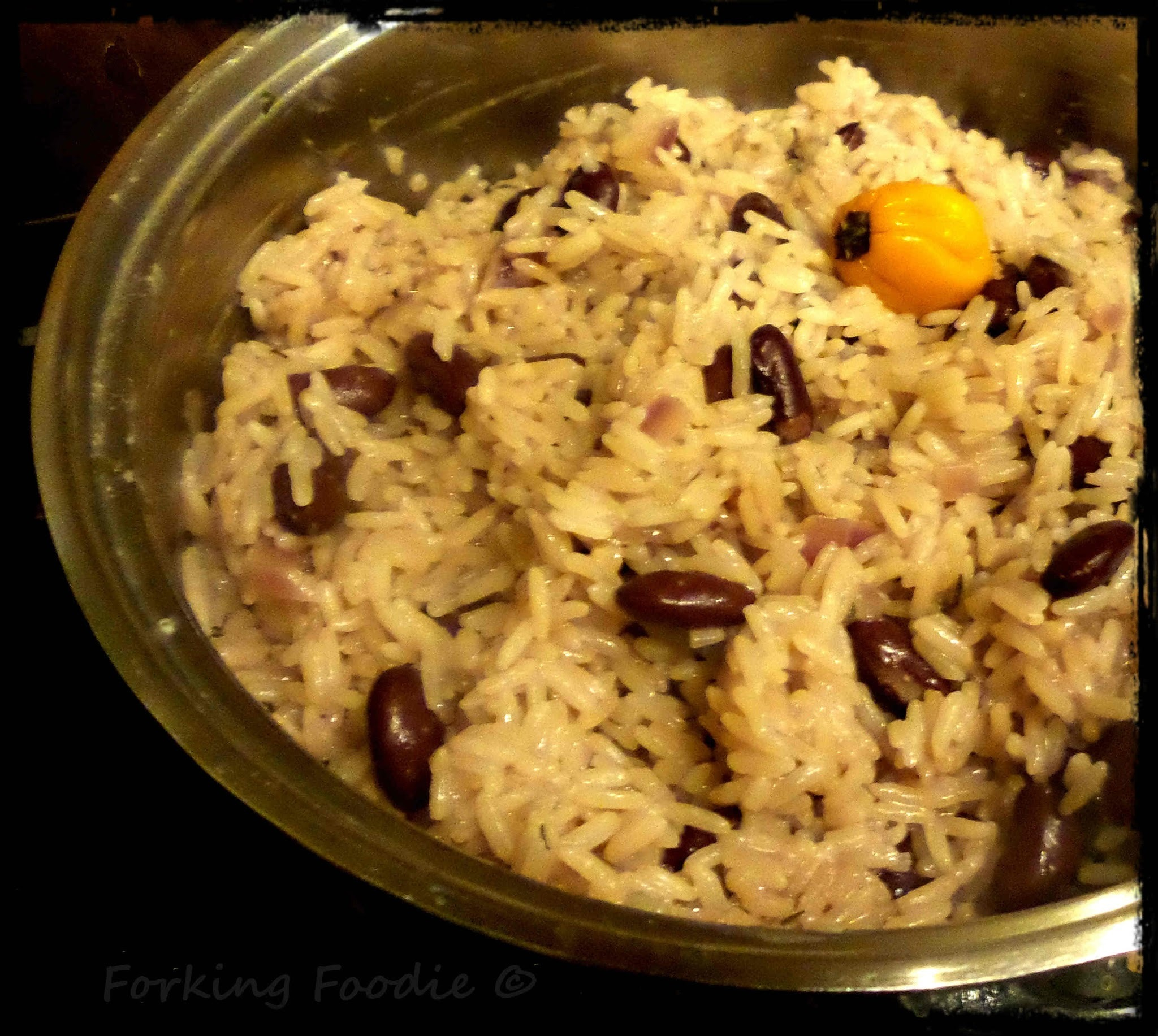 Jamaican Rice and Peas (includes Thermomix method)