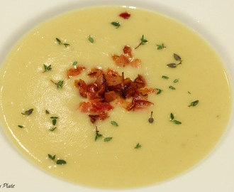 Soup Monday - Potage Parmentier or Potato & Leek Soup
