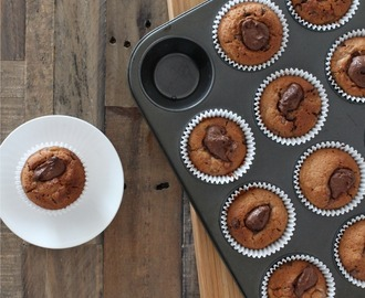 Nutella & Choc Chip Banana Muffins