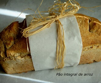 PÃO INTEGRAL DE ARROZ