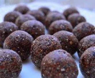 Chocolate Chia Energy Bites (nut free)