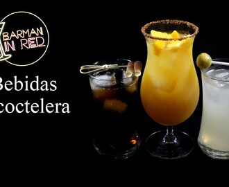 3 bebidas fáciles sin coctelera - Barman in Red