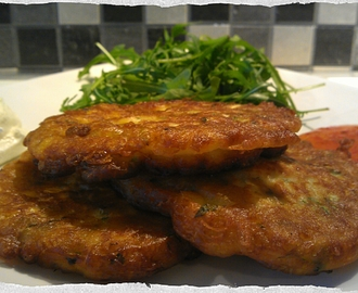 Sweetcorn, Courgettes & Mint Fritters ...