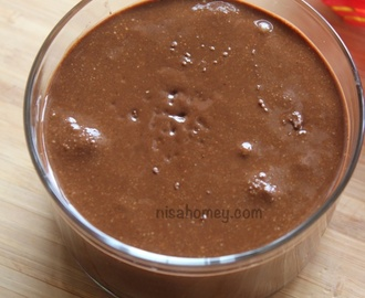 Homemade Chocolate Peanut Butter In 1 Minute