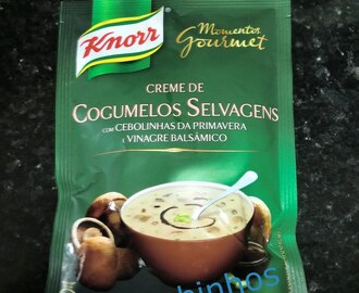 Creme Cogumelos Selvagens Knorr