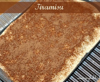Tiramisu ... or the post that almost wasn't