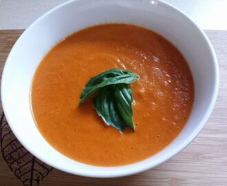 Roasted Tomato and Capsicum Soup