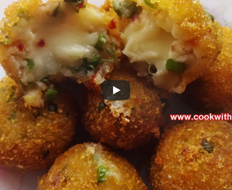 Potato Cheese Balls Recipe Video