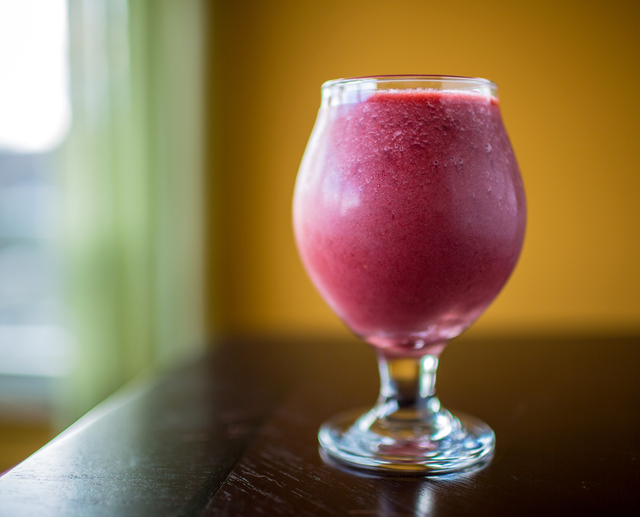 Vibrant Red Beet + Berry Smoothie