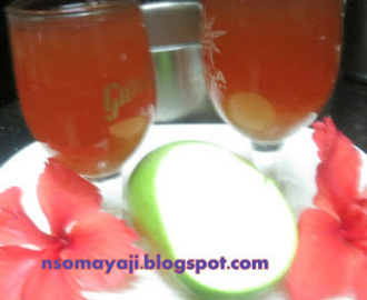 Hibiscus Flower - Raw Mango Drink