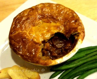 Steak and Ale Pies (includes Instant Pot / Pressure Cooker method)