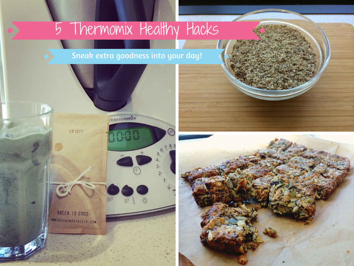 5 Thermomix Healthy Hacks