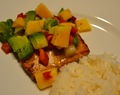 Tropical Flavors In February: Grilled Lime Salmon