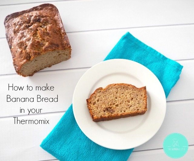 Easy Thermomix Banana Bread