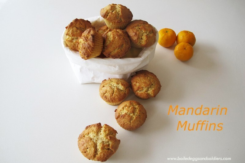Mandarin Muffins, lunch box ready, Thermomix & regular recipes