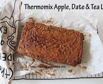 Donna Hay's Apple, Date  & Tea Loaf  Thermomixed