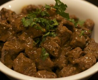 Beef Braised in Coconut Milk