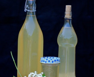 Elderflower, Vanilla, and Lemon Syrup ~ and The Hugo Cocktail