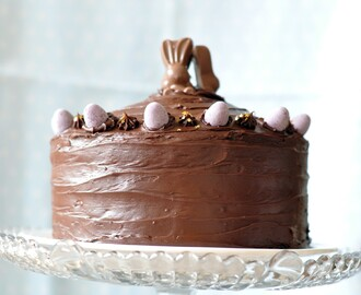 Sinful Chocolate Simnel Cake