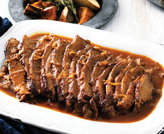 RECIPE: Onion Braised Beef Brisket
