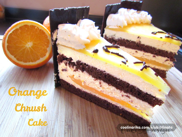 Orange chrush torta ORIGINAL