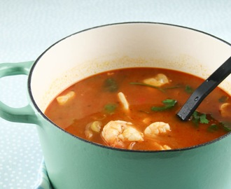 Soup Monday - Spanish Fish Soup