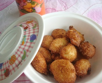 Sweet & Crispy Idli Batter Fritters - Quick & Easy snack