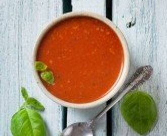 Roasted Tomato and Red Pepper (capsicum) Soup