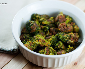 Broccoli with Besan/Chickpeas flour