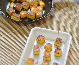 Instant roasted paneer snack  -  Recipes in 5 minutes-  Paneer recipes