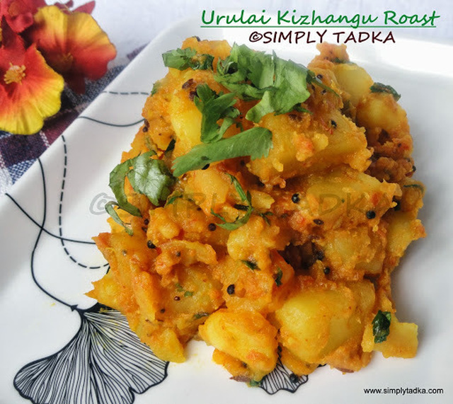 Urulai Kizhangu Roast/ Spicy Aloo Roast