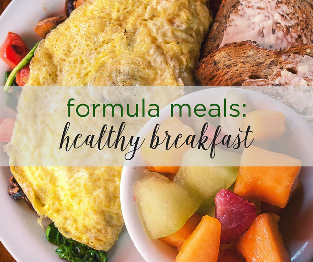 Formula Meals: Healthy Breakfast