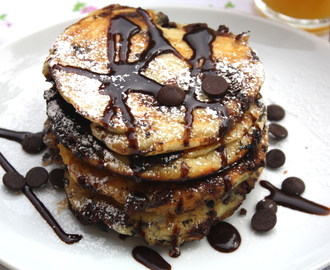 Chocolatechip pancakes