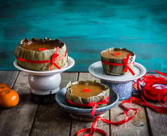 Chinese New Year Nian Gao (Sweet sticky rice cake)