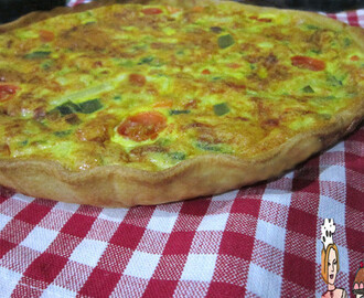 Tarte mix vegetariana