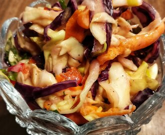 Sweet and Spicy coleslaw — Mat & Pyssel Bloggen
